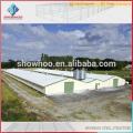 structure en acier ouvre une ferme de volaille à poulet pour poulet et cochon