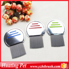 Customized for Pet Combs,Pet Lice Comb,Pet Flea Comb Manufacturers and Suppliers in China nit beauty grooming lice comb export to Lesotho Supplier