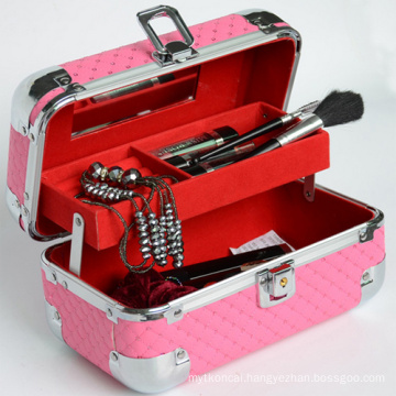 Cosmetic Case for Makeup and Jewelry with Customized Color