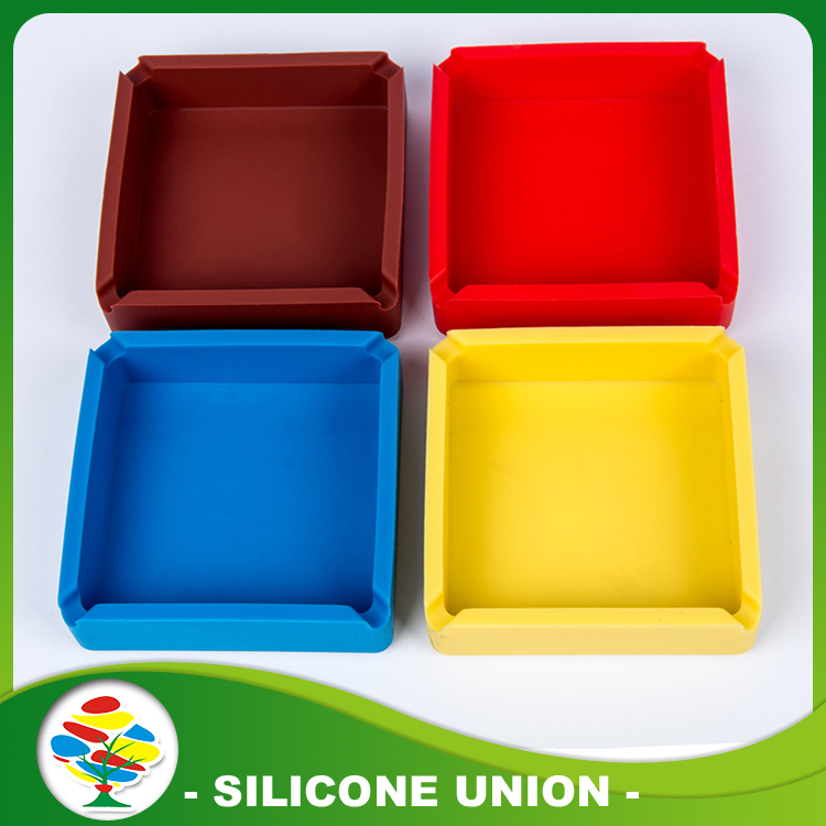 Multicolor Silicone Ashtray