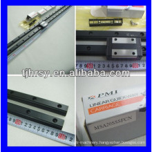 PMI linear guideways and carriage MSA35S/LS
