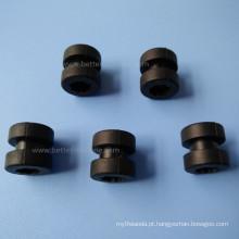 Luva de borracha de silicone de elastômero moldado personalizado