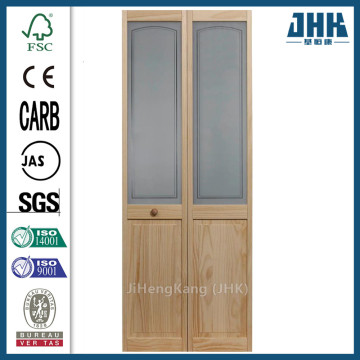 JHK Louver Pine Plantation Interior Closet Bi-fold Door