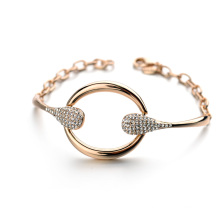 Hot Item Promotional Bracelet 2016 jewelry extraordinary circle crystal avenue bracelet jewelry accessories