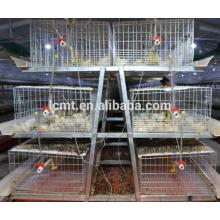 Jaula A tipo de uso de pollo para equipos de avicultura