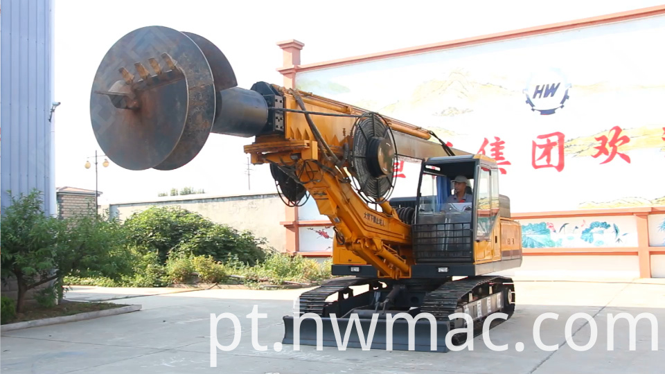 Crawler Rotary Drilling Rig