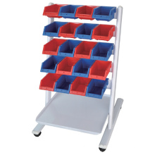 Dental Laboratory Cart with 20 Pans