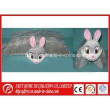 Almohada de juguete de peluche de conejo para el regalo de promoción del bebé