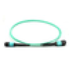 Cables de fibra óptica MPO, cable de fibra OM3, cables de fibra óptica de vidrio para la red FTTH