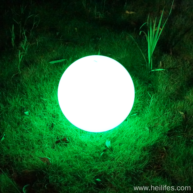 LED Solar Colorful Garden Lamp Light