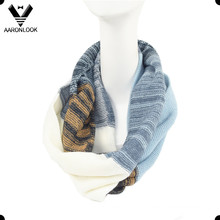 Lady Multicolor Multicolor Knitted Neck Scarf