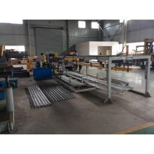 Construção Cimento na máquina de costelas de metal