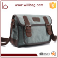 High Quality Leisure Shoulder Bag For Men Canvas Messenger Bag