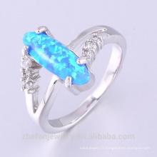 Vente chaude et haute qualité folle exposant anneau de mens opale de feu anneau de bijoux
