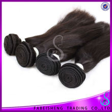 Double Drawn Double Weft Raw Virgin Dropship flat iron hair extensions