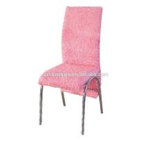 Cadeira de metal moderna, cadeira de restaurante de encosto para venda