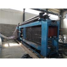 Máquina para fabricar mallas de gaviones