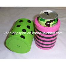 Refroidisseur isolé à base de néoprène, refroidisseur à bouteilles et à bouteilles, porte-bouteilles