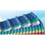 3 layer anti corrosive composite upvc corrugated roofing sheet