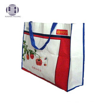 Напечатана большая емкость PP Non-сплетенная хозяйственная мешок tote бакалеи