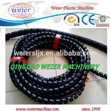 plastic PE spiral strap tubes production machine
