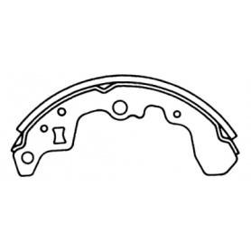 Suzuki cultus brake shoes OEM 5320082810