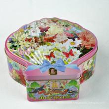 Emballage de biscuits Conteneurs d'étain, Conteneurs d'emballage de fantaisie