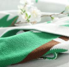 बच्चे पेड़ के साथ कपास कंबल गैरी partten