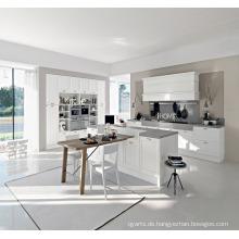 Weiß PVC Melamin Lack UV Küchenschrank
