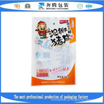 Sacolas de embalagens de alimentos de alta temperatura