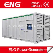 Generador diesel en contenedor 800KW a la venta, motor diesel para 4008TAG2A