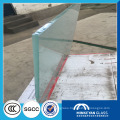 hot sale larger frosted tempered glass for doors