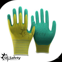 SRSAFETY most competitive price gloves latex/latex coated work glove