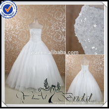 RSW445 Cheap Rhinestone Beaded Sequin Ready Made Wedding Dresses Under 100