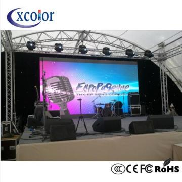 Outdoor Stage Background Led Rental P4 Display Screen