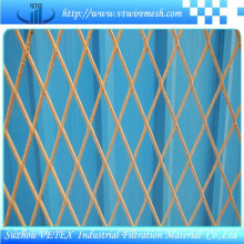 Expanded Wire Mesh Road Zaun