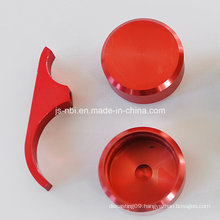 Aluminum CNC Machining Parts for Clamp with Anodizing