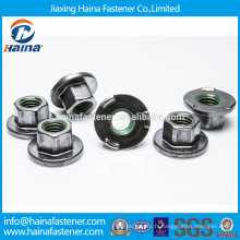 Fournisseur en Chine Meilleur prix Acier inoxydable / acier au carbone Noix de soudure hexagonale avec bride
