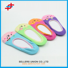 2015 Baby Child Knitted Animal Head Socks Животные Нижняя манжета Невидимые носки пальца ноги