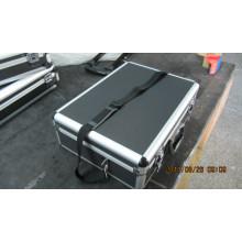 Hartschalenkoffer aus Aluminium mit Schaumstoff (BT-219)