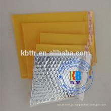 Em branco personalizado Air almofadado kraft bubble mail acolchoado