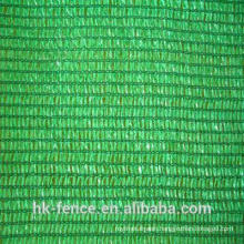 HDPE 100g/m2 green 60% shade rate shade netting ISO factory