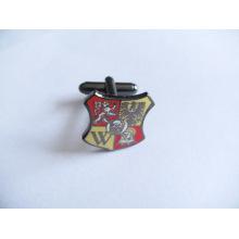 Custom Shield Metal forma abotoaduras (GZHY-XK-002)