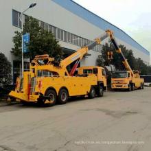 Fábrica de China 50 toneladas de camión de auxilio resistente en venta