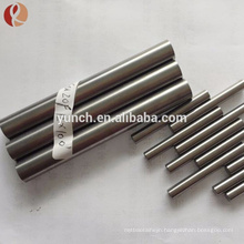 99.95% Polished ASTM B392 Nb1 Nb2 Niobium Round Rod Price Per Kg