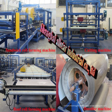 EPS building sandwich wall panels roll forming machine