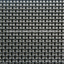Red de alambre cuadrado de polvo negro (malla tejida)