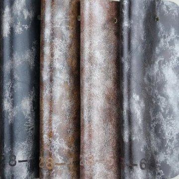 Sofá de cera de óleo PU imitação de couro para móveis (928 #)