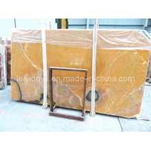Yellow Onyx Slab for Marble Mosaic Stone Tile