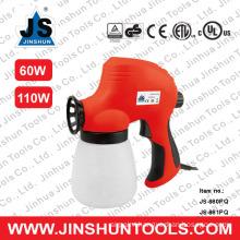 JS Hot melt glue spray gun with prefessional paint effect